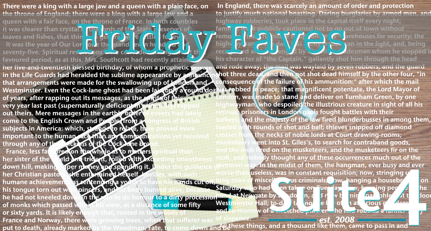 Friday Faves: Suite 4 Is Starting A Book Club!