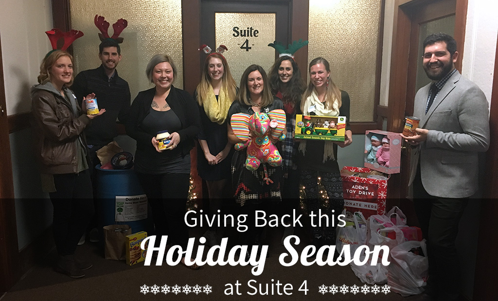 Giving Back This Holiday Season At Suite 4